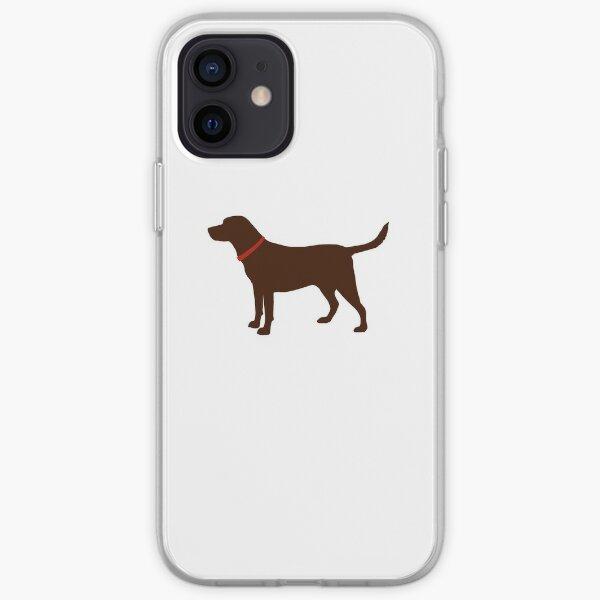 Black Labrador iPhone Soft Case