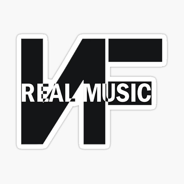 Recent NF REAL MUSIC Sticker