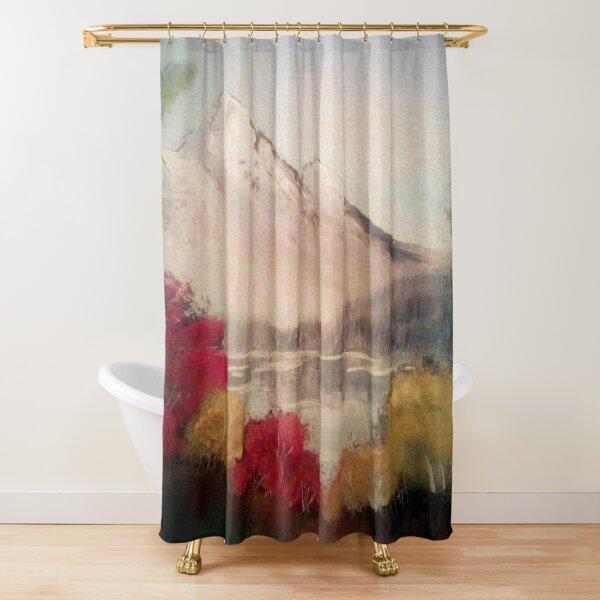 October's Landscape Shower Curtain