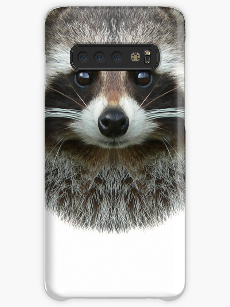 'Raccoon Face, Cute Raccoon Lover' Case/Skin for Samsung Galaxy by  madeulaugh