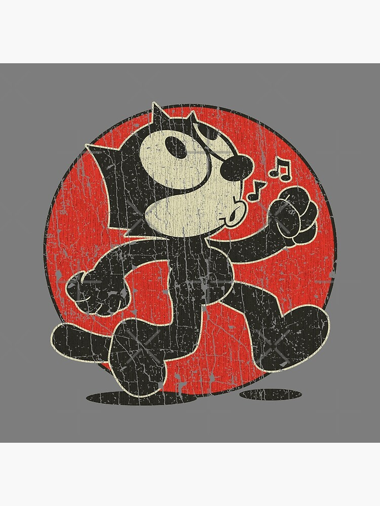 Felix The Cat Keep Walking Vintage T-Shirt by jacobcdietz