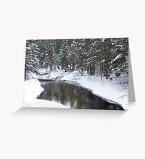 Jordan River Greeting Card
