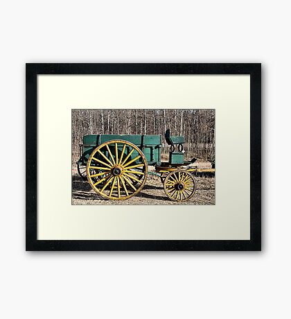 For Hire - Reasonable Rates Framed Print