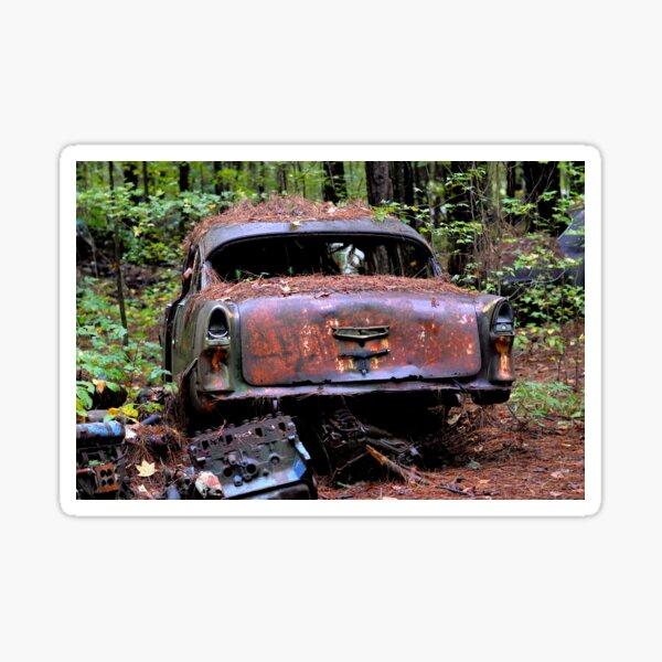 rusty cars Sticker
