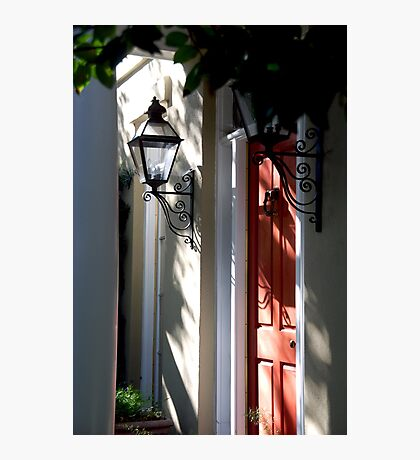 In Down Town Charleston Photographic Print