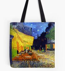 Cafe Terrace at Night - Van Gogh Tote Bag