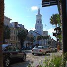 St. Michaels Church on Broad Street in Charleston by Susanne Van Hulst