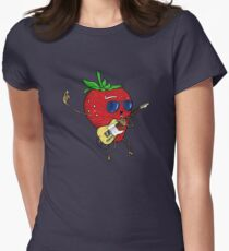 Strawberry Jam, T-style Women's Fitted T-Shirt