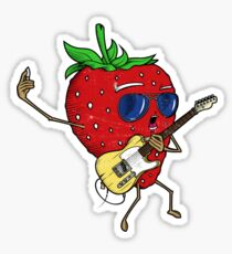 Strawberry Jam, T-style Sticker