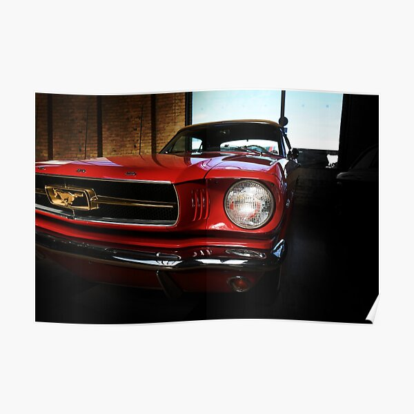 ford mustang voiture classique Poster