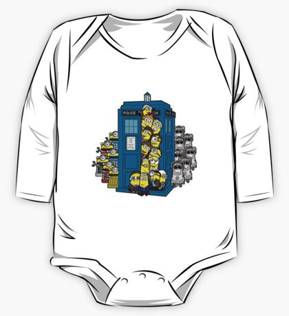 Behind You Doc Minion One Piece - Long Sleeve