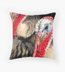 Narragansett Turkeys Throw Pillow