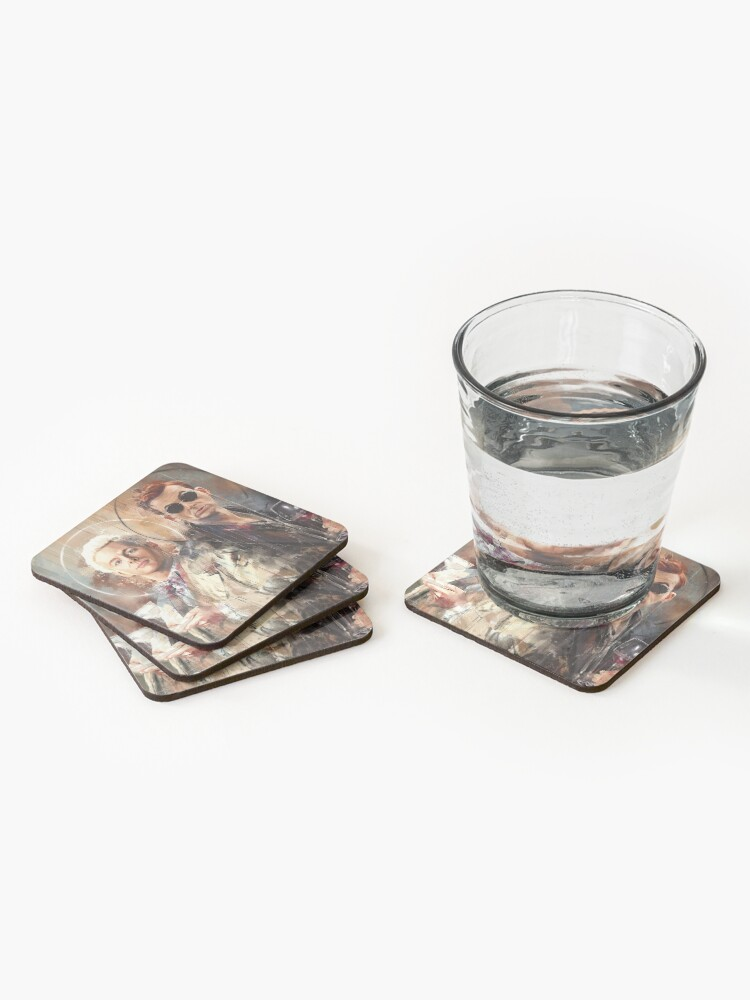 Alternate view of Let's go for a drink Coasters (Set of 4)