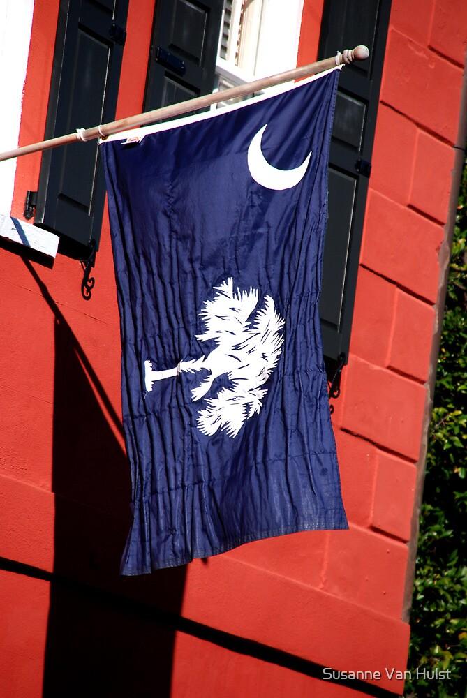 South Carolina State Flag by Susanne Van Hulst