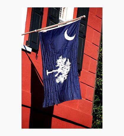 South Carolina State Flag Photographic Print
