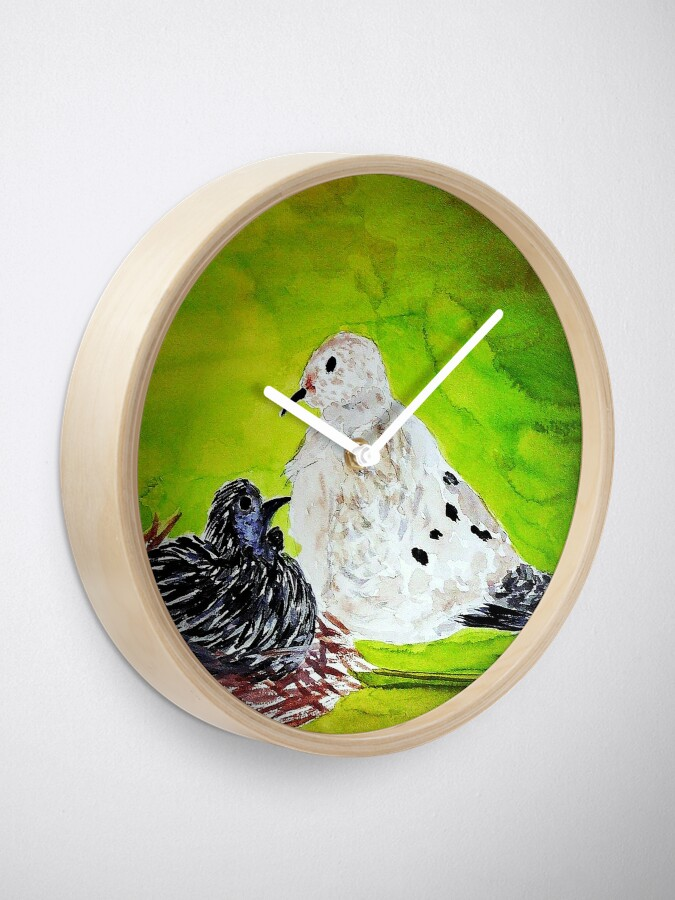 Alternate view of On the Nest Clock