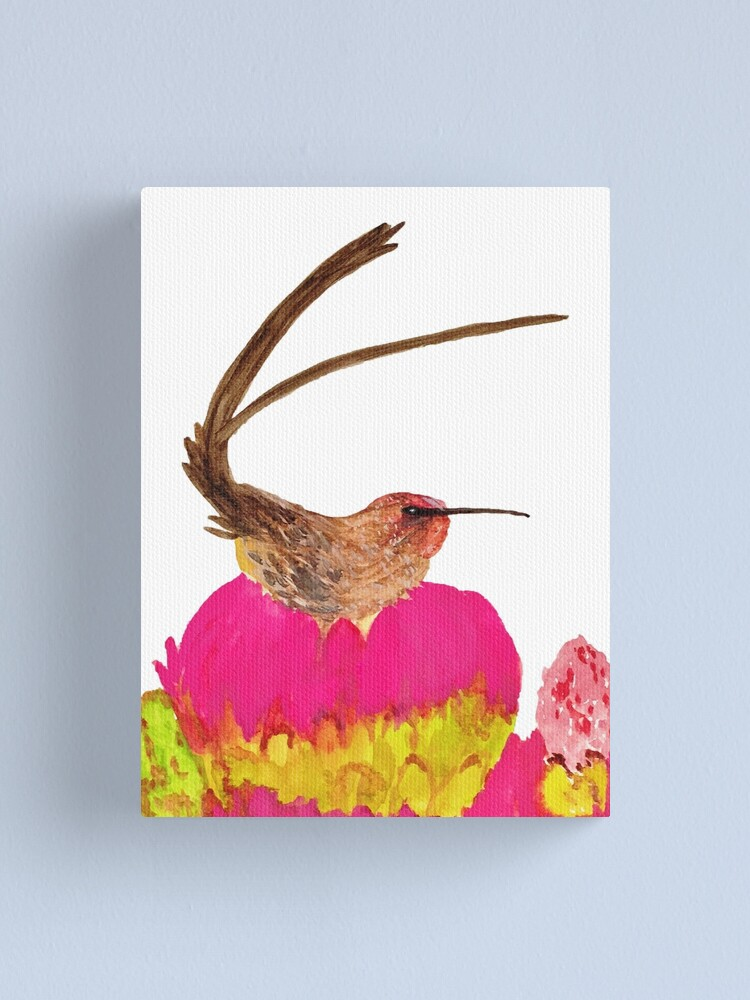 Alternate view of Sugarbird Canvas Print
