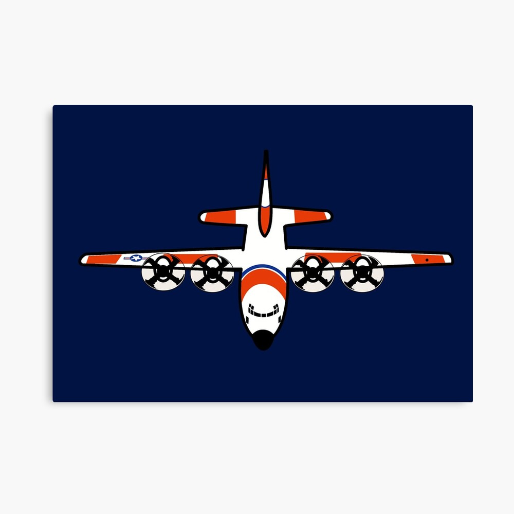 US Coast Guard C-130 Hercules Overview Canvas Print