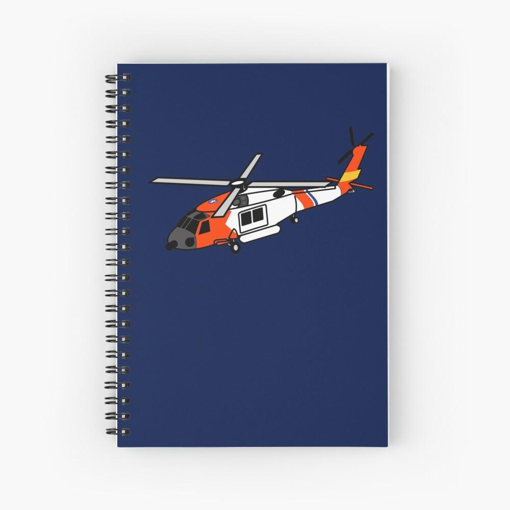 US Coast Guard HH-60 Jayhawk Spiral Notebook