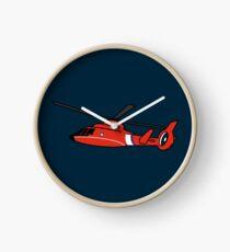 US Coast Guard HH-65 Dolphin Clock
