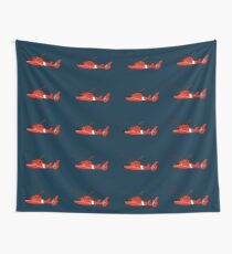 US Coast Guard HH-65 Dolphin Wall Tapestry