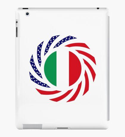 Italian American Multinational Patriot Flag Series iPad Case/Skin