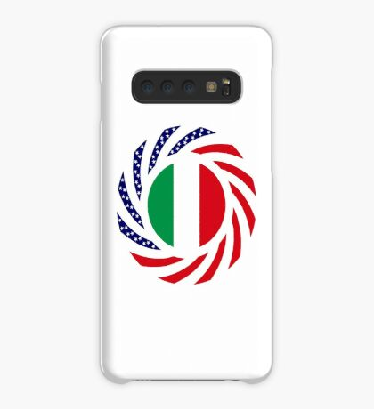 Italian American Multinational Patriot Flag Series Case/Skin for Samsung Galaxy