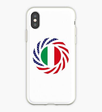 Italian American Multinational Patriot Flag Series iPhone Case