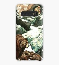 A MOUNTAIN CAVE WHICH NO PERSON HAD EVER SEEN from the story THE GOLDEN HORDE in The Russian Story Book Case/Skin for Samsung Galaxy