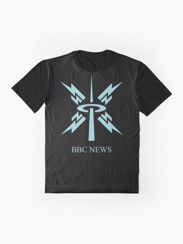 Alternate view of NDVH BBC News 1988 Graphic T-Shirt