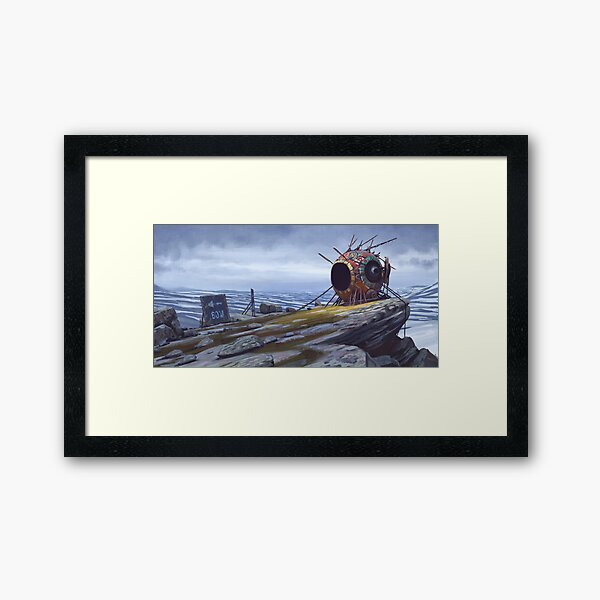 The Course One Framed Art Print