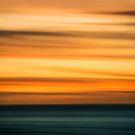 Fiery Tropical Sunset by Lynnette Peizer