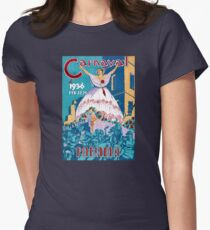 Panama Carnival Vintage Travel Poster Restored T-Shirt