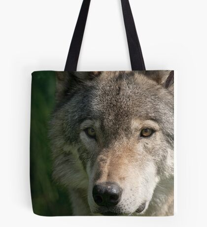 Timberwolf - Acrylic painting treatment in PS3 Tote Bag