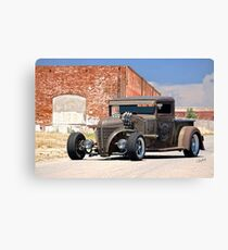1934 Ford 'Six Pack Rat' Pickup Canvas Print
