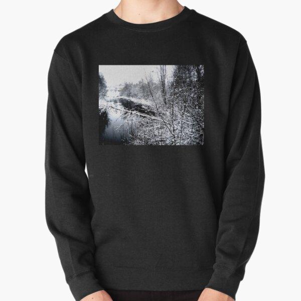 River Frozen  Pullover Sweatshirt