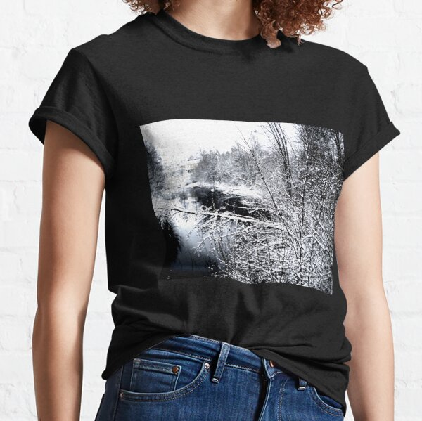 River Frozen  Classic T-Shirt