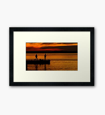 When Are We Going Home! Framed Print