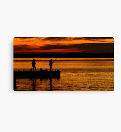 When Are We Going Home! Canvas Print