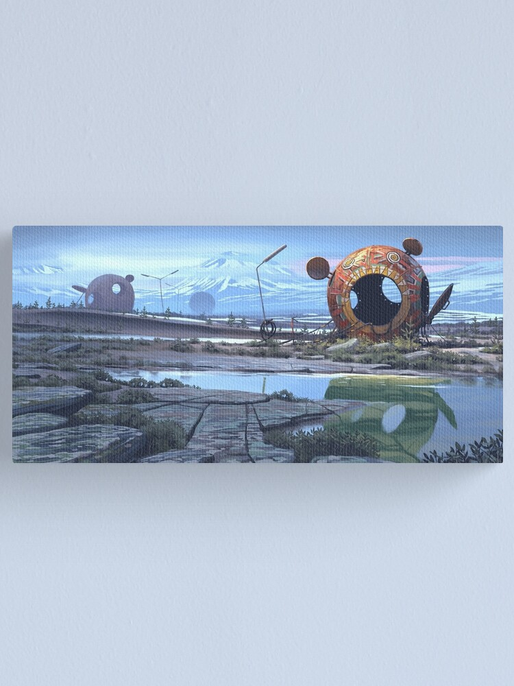 Alternate view of The Course Four Canvas Print