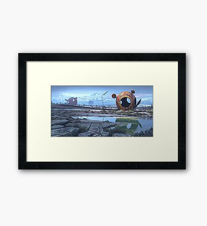 The Course Four Framed Print