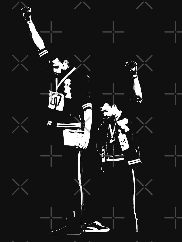 1968 Olympic Protest - John and Tommie by fontastic