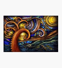 Steampunk - Starry night Photographic Print