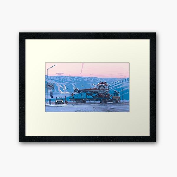 Schiff 14 Gerahmter Kunstdruck
