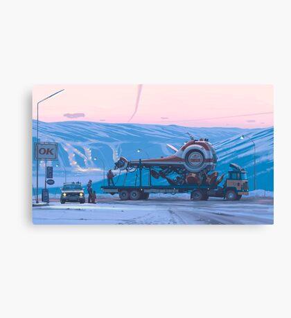 Ship 14 Canvas Print