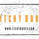 Itchy Boots - Boot Print Black  by ItchyBoots