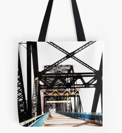 chain of rocks bridge, route 66 Tote Bag