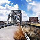 rio puerco bridge, route 66, new mexico by brian gregory