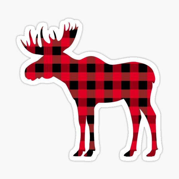 Buffalo plaid Sticker
