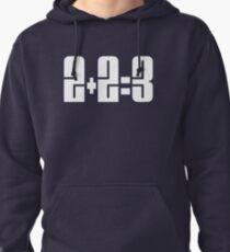 2+2=3 Pullover Hoodie